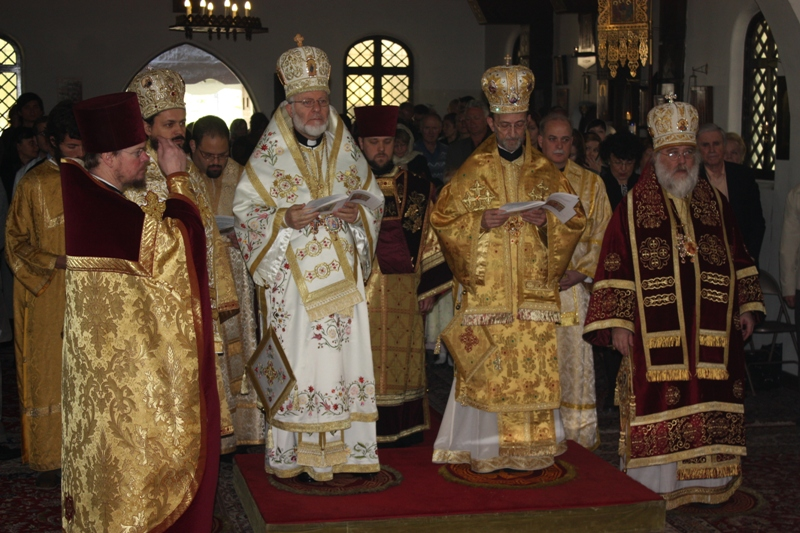Sunday of Orthodoxy in Los Angeles, CA
